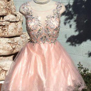 NWT  Evening Formal Dress Embellished Bodice 2XL